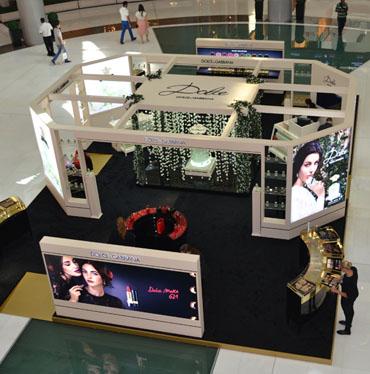 Dolce & Gabanna EDT Launch Mega Podium