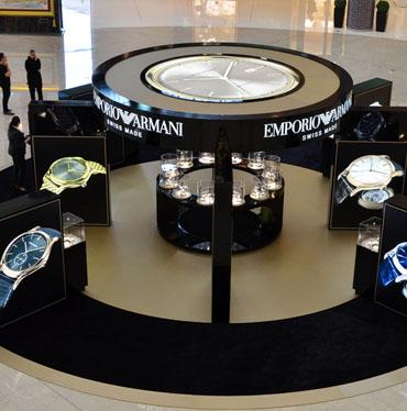 Emporio Armani Watches Podium