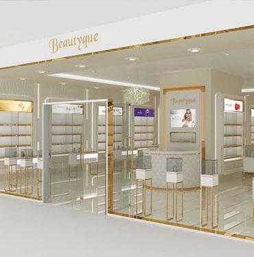 Beautyque Shop Concept