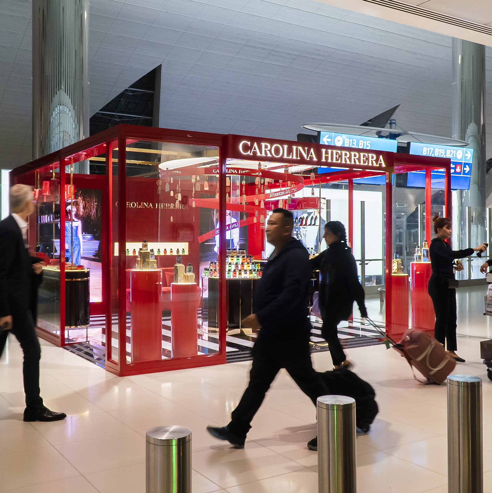 Carolina Herrera_VIP Boutique Stand_Concourse B